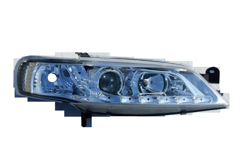 2 klarglas scheinwerfer led standlicht opel vectra b. Black Bedroom Furniture Sets. Home Design Ideas