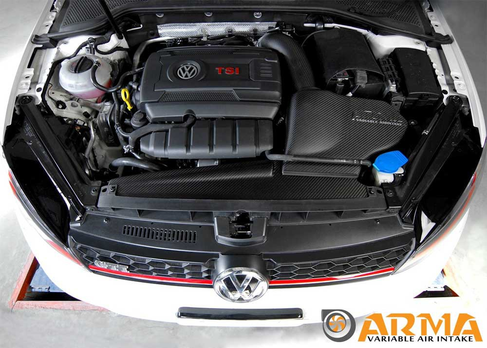 arma carbon airbox air intake vw golf 7 r 2 0 tuning. Black Bedroom Furniture Sets. Home Design Ideas